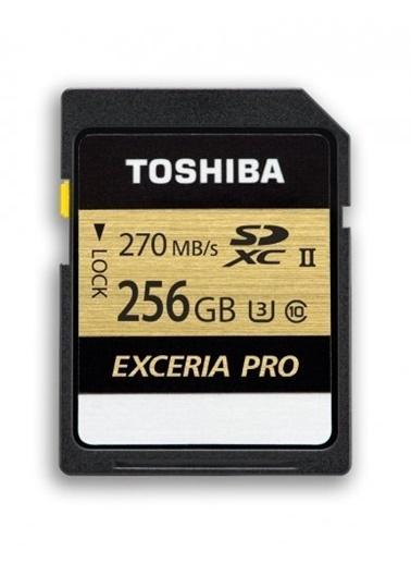 Toshiba 256Gb Sdxc Uhs-Iı U3 270/250 (Excerıa Pro) Renkli